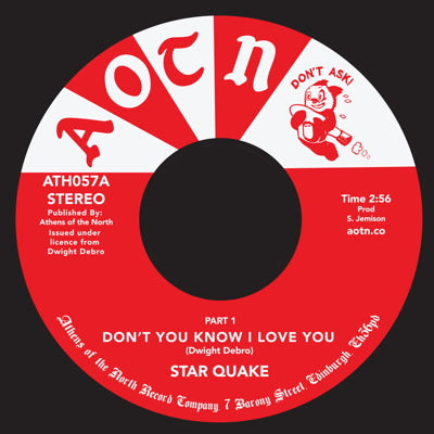 Star Quake - Don't You Know I Love You 7-Inch