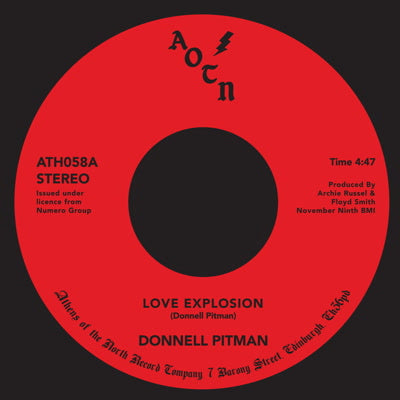 Donnell Pittman - Love Explosion 12-Inch