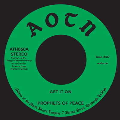 Prophets Of Peace - Get It On 7-Inch