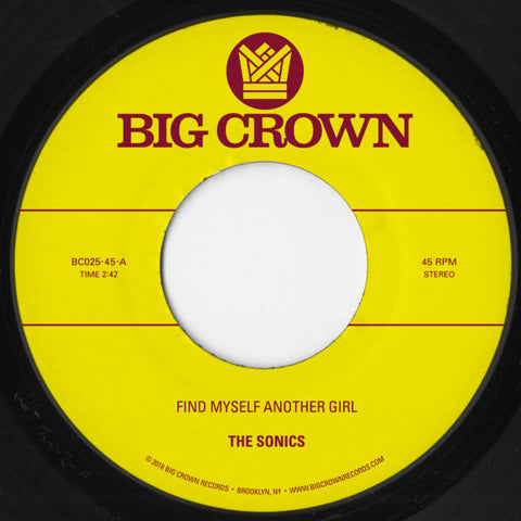 The Sonics / SCAM - Find Myself Another Girl / Spooky 7-Inch