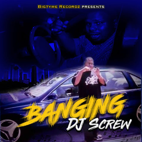 DJ Screw - Banging LP (Blue Vinyl)