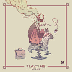 L'indecis - Playtime LP (Gold Vinyl)