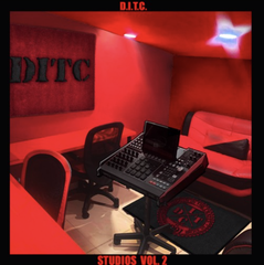 D.I.T.C. Studios Volume 2 LP (Red Vinyl)