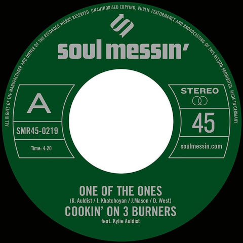 Cookin' On 3 Burners - One Of The Ones b/w Force Of Nature 7-Inch
