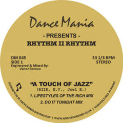 Rhythm II Rhythm - A Touch of Jazz EP