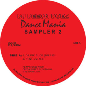 DJ Deeon - Dance Mania Sampler 2 EP