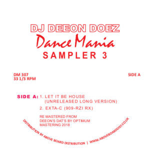 DJ Deeon - Doez Dance Mania Sampler 3