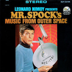 Leonard Nimoy - Mr. Spock's Music From Outer Space LP