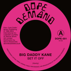 Big Daddy Kane - Set It Off 7-Inch