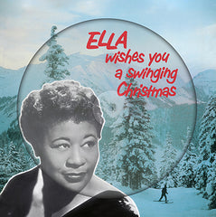 Ella Fitzgerald - Wishes You A Swinging Christmas LP (Picture Disc)