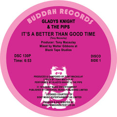 Gladys Knight & The Pips - It's Better Than A Good Time 12-Inch