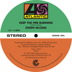 Gwen McRae - Keep That Fire Burning 12-Inch