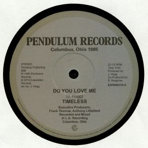 Timeless Legend - Do You Love Me 12-Inch