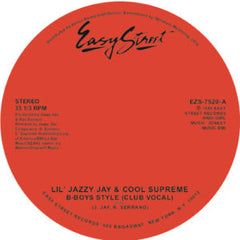 Lil' Jazzy Jay & Cool Trouble/B-BOYS 7-Inch