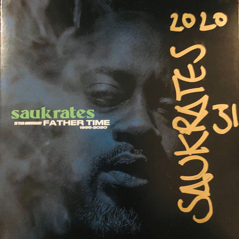 Saukrates - Father Time Signed Copies