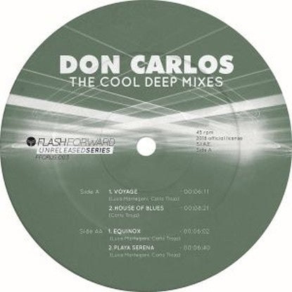 Don Carlos - The Cool Deep EP