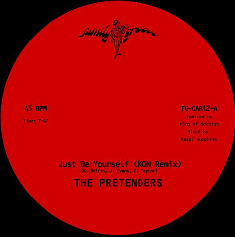 The Pretenders (Kon Remix) - Just Be Yourself 12-Inch