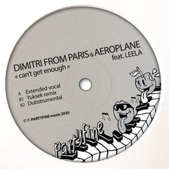 Dimitri From Paris And Aeroplane - Can't Get Enough EP
