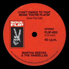 M Reeves - I Can't Dance (Soul Flip Remix) 7-Inch