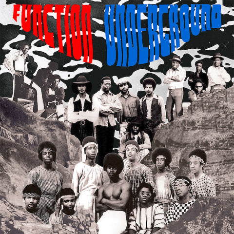 Function Underground - The Black And Brown American Rock Sound 1969-1975 LP + Booklet + Download