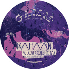 Rahaan - Down Comes The Rain EP