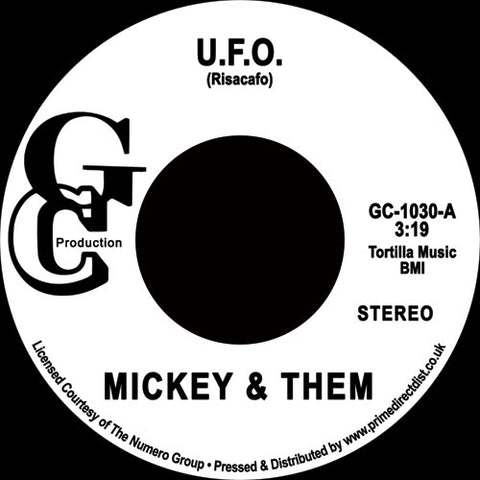 Mickey And Them - UFO 7-Inch