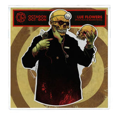 Dr. Octagon - Octagon Octagon / Blue Flowers Shaped Picture Disc