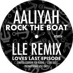 Aaliyah - Rock The Boat (LLE Remix) EP