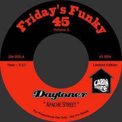 Daytoner - Apache Street b/w Michael's Incredible Twin 7-Inch