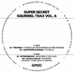 Super Secret Squirrel Trax Vol 6 EP