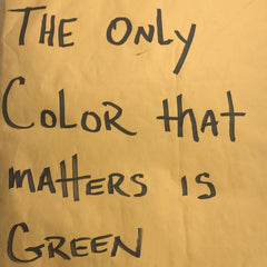 Pacewon & Mr. Green - The Only Color That Matters is Green LP