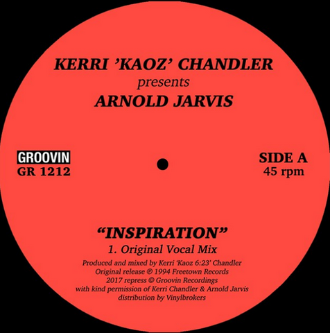 Kerri Chandler - Inspiration EP