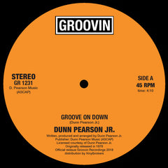 Dunn Pearson - Groove On Down 12-Inch
