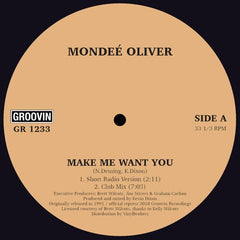 Mondee Oliver - Make Me Want You EP