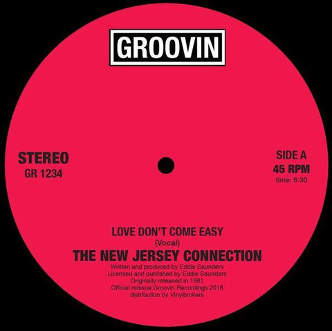 New Jersey Connection - Love Don't Come Easy 12-Inch