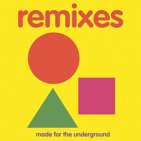 Jazz Spastiks & Penpals - Remixes: Made For The Underground 2LP (Deluxe Edition)
