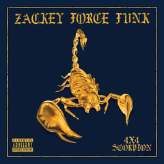Zackey Force Funk - 4x4 Scorpion LP (Blue Vinyl)