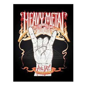 Heavy Metal Coloring Book