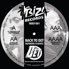 MC Det - Back To Det Oldskool Classics EP