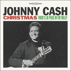 Johnny Cash - Christmas: There'll Be Peace In The Valley LP