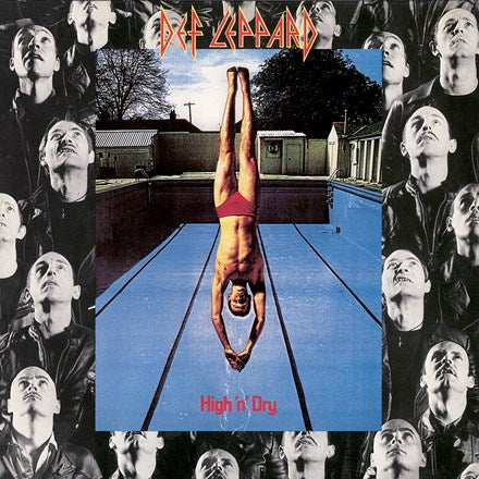 Def Leppard - High N Dry LP