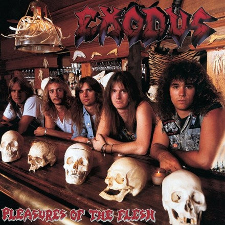 Exodus - Pleasures Of The Flesh LP (Red Vinyl)