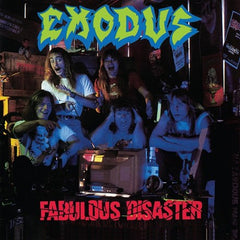 Exodus - Fabulous Disaster LP (Red Vinyl)