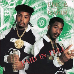 Eric B. & Rakim - Paid In Full 2LP