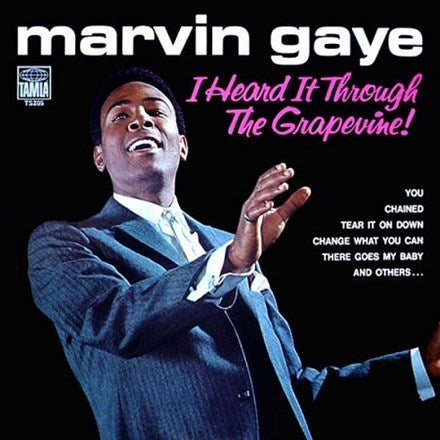 Marvin Gaye - I Heard It Through The Grapevine LP