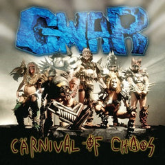 Gwar - Carnival Of Chaos LP (Yellow/Red Splatter Vinyl)