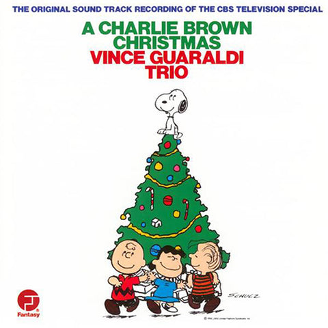 Vince Guaraldi - A Charlie Brown Christmas LP (Green Vinyl)