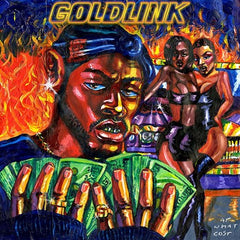 Goldlink - At What Cost 2LP (Blue Vinyl)