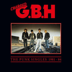 GBH - Punk Singles 1981-1984 2LP (Red Vinyl)