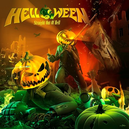 Helloween - Straight Out Of Hell 2LP